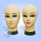 BUDGET PLASTIC MALE FEMALE DISPLAY HEAD/ HEADS MANNEQUIN WIGS, CAP, SCARFS, HATS
