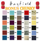 Hayfield by Sirdar Bonus Chunky 100g Knitting Wool Yarn - ALL COLOURS