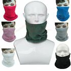 Polar Fleece Neck Warmer Snood Scarf Hat Unisex Thermal Ski Wear Snowboard