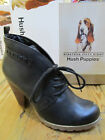 Hush Puppies Revive Chukka Ankle Black Leather Lace Up Boot Shoe Size 4  7