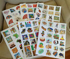 Sets of 24 Stickers of Different Cultures/Eras-You Pick-Asian Afrian Hispanic...