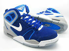 Mens New NIKE AIR FLIGHT FALCON  Blue Leather Trainers 397204410  RRP £ 80