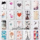 New Apple iPhone 4 4S Hard PC Fitted Skin Case Cover Back Protector Multi Styles