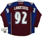 GABRIEL LANDESKOG COLORADO AVALANCHE REEBOK PREMIER HOME JERSEY NEW WITH TAGS