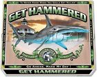 """Get Smoked"" Fishing Tee's Men and Women's Hammerhead Get Hammered 100% cotton"