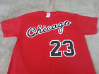 Chicago Bulls Michael Jordan Rookie year vtg style Jersey T-shirt / Sweatshirt. on eBay
