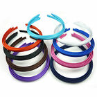3 Alice bands hair accessories set headbands bright dark & school colours