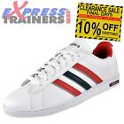 Adidas Mens Neo Derby Classic Leather Trainers White * AUTHENTIC *