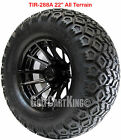 """12"""" RHOX RX104 Wheel with Tire Combo and EZGO Golf Cart Lift Kit"""