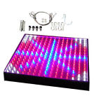 HQRP 225 LED Indoor Garden Panel Hydroponic Blue Red Orange White Grow Light