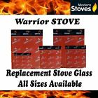 Warrior Replacement Stove Glass - Heat Resistant