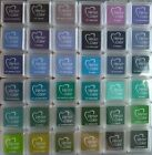 VERSACOLOR - CUBE INK PAD - TSUKINEKO - BLUES/LILACS/GREENS FREE UK p&p on EXTRA