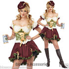 C895 Beer Garden Girl Bar Maid Oktoberfest Beer Drindl Fancy Dress Adult Costume