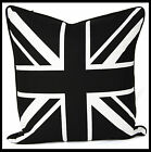 100% Cotton Decorative Black & White Cushion Cover pillow cover by Adam Home