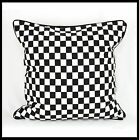 black and white cushions