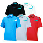 New 2014 Adidas Sergio Garcia ClimaChill Chest Print Golf Polo Pick Size & Color