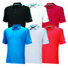 New Adidas Golf ClimaChill Shoulder Print Polo Jersey - Pick Size & Colo