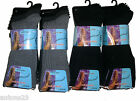 12 Pairs Mens PURISTA Non Elastic Loose /Soft Top Diabetic Socks Size 6 -11