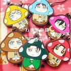 Shingeki no Kyojin / Attack on Titan - CharaNoko Rubber Strap Collection