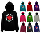 Mens Red Hot Chili Peppers Asterix Asterisk Logo Pullover Hoodie NEW UK XS-XXL