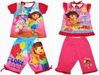 Dora the Explorer Girl Outfit Set Top + Pants #216 Pink Size 4-8 age 3-8
