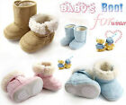 Baby Infant Toddler Boys Girl Warm Winter Snow Shoes Boots 6-9-12-18-24 Months