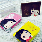 Ladies Girls Cute ID Card Bags12 Cards  Folder Booklet Business Wallet Organiser