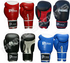 PRIME LEATHER MACHINE MOULDED FOAM BOXING GLOVES FIGHT PUNCH BAG BARGAIN