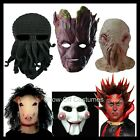 COSPLAY HALLOWEEN MEN'S COSTUME WIGS CAVEMAN WEREWOLF DEVIL VAMPIRE SAW MASKS