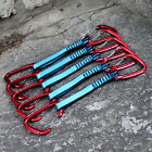 FREE POSTAGE 5 x Light Quickdraws Wire Wire Carabiner / Karabiners Climbing UIAA