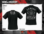 0229 Official Sons of Anarchy Merchandise 2013 Release Black T-Shirt Free p&p