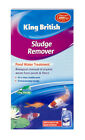 KING BRITISH POND SLUDGE REMOVER (250ml - 500ml) fish water natural cleaning