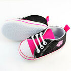 Infant Toddler Baby Boy Girl Soft Sole Crib Shoes Sneaker Age 3-12Months NoG8MY