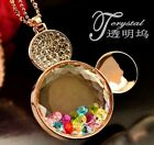 FD346 Women Beautiful Colorful Crystal Rhinestone Mickey Mouse Necklace 1pc/