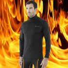 [Tesla] Mens Loose Fit HOTGEAR Turtleneck Base Layer Thermal Long Sleeve L22BB