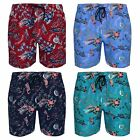 New Men's Tokyo Tigers Beach Hawaii Print Surf Swim Shorts Trunks S M L XL XXL