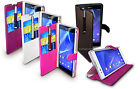 Case cover for Sony Xperia T2,PU Leather Flip Wallet stand +Stylus + Screenguard