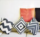 1x Chic Comfy Soft Cushion Case Room/Home Decors Car Sofa Pillow Case Covers-CB