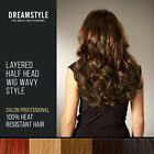 Clip In Curly Hair Extensions Layered Half Head Pieces