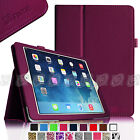 Slim Folio PU Leather Case Smart Cover w Stand for 2013 Apple iPad Air 5 5th Gen