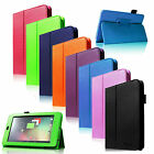 Slim Folio PU Leather Case Stand Cover for Google Nexus 7 1st Gen Andriod Tablet