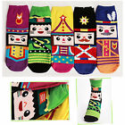 New Womens Girl Casual Funny Socks Cartoon Unique Character Socks Made In Korea
