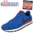 Nike Mens Air Pegasus 83 Retro Suede Running Trainers Blue New 2014 *AUTHENTIC*