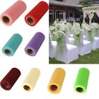 "Hot 1 Roll 6""X25 Yard  TULLE FABRIC SPOOL ROLL BOWS WEDDING BRIDAL TUTU NETTING"