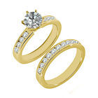 1 Carat G-H SI3-I1 Diamond Engagement Wedding Solitaire Ring 14K Yellow Gold