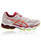 ASICS Womens GEL-PULSE 6 White Cushioned Road Running Trainers Pumps Shoes New