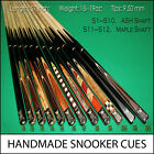 Handmade Stunning Snooker Cue Sets - Christmas Gifts - SALE NOW ON! RRP £329.99
