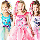 My Little Pony Girls Fancy Dress Fairytale Cartoon Animal Childrens Kids Costume