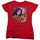 DC Comics Pop Art Wonder Woman Women's T-Shirt Tee