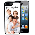 CUSTOM IMAGE RUBBER CASE FOR iPHONE 8 7 6S 6 5S 5C SE PLUS YOUR IMAGE